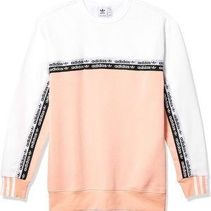 Adidas Originals Colorblock Tape Sweatshirt